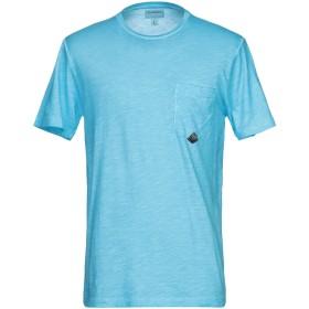 《期間限定 セール開催中》RO ROGER'S メンズ T シャツ ターコイズブルー L コットン 100%