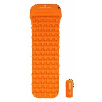 iBasingo 超軽量エアウェーブマット 防水 枕の厚さ10cm ピローマット キャンピングマット 1人用 エアーベッド テントマット 寝袋マット