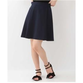 TARA JARMON TOILE DOUBLEタックデザインスカート IMPORTED その他 スカート,ネイビー