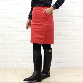 Dress apt.(ドレス アプト) ストレッチコーデュロイ膝丈 切替スカート・10510 ・レディース・10052429
