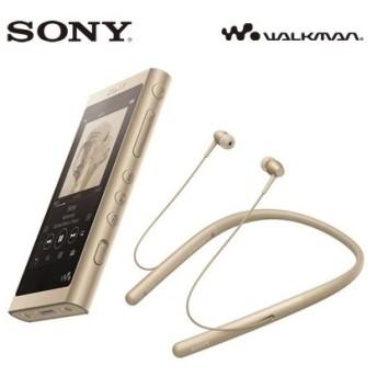 ソニー ウォークマン Aシリーズ NW-A50シリーズ 16GB WI-H700同梱モデル NW-A55WI-N ペールゴールド 2018年モデル SONY WALKMAN【60サイズ】