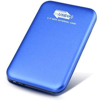 ハードディスク 外付けHDD USB3.0 外付けハードディスク ポータブルHDD PS4/ Mac/PC/Xbox/テレビ対応 (1TB, 青)