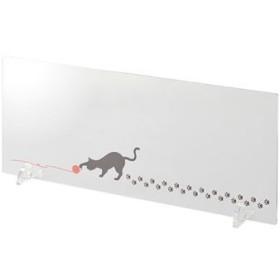 水はね防止ボード(猫の足あと・キッチン用) - セシール ■カラー:毛糸猫 ■サイズ:90cm