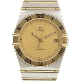 03楽市 本物 OMEGA オメガ コンステレーション メンズ クォーツ 腕時計