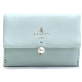 ギャレリア ランバンオンブルー LANVIN en Bleu シャペル 三つ折り財布 482014 レディース ミント F 【GALLERIA】
