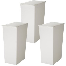 (3個セット)クード ゴミ箱 kcud シンプルスリム KUDSP SLW ホワイト ごみ箱 ダストボックス(ラッピング不可)