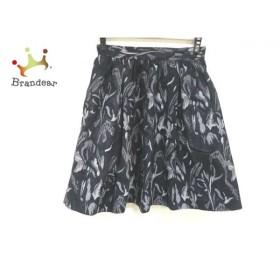 ダイアグラム Diagram GRACE CONTINENTAL スカート サイズ38 M レディース 黒×グレー ラメ   スペシャル特価 20191104