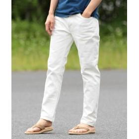 【50%OFF】 ビームス アウトレット BEAMS / スマート フィット デニム メンズ WHITE S 【BEAMS OUTLET】 【セール開催中】