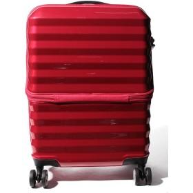 【42%OFF】 アディセレクション スーツケース フロント゜オープン S 機内持ち込み対応サイズ ユニセックス レッド フリーサイズ 【addy selection】 【タイムセール開催中】