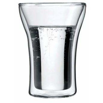 ボダム アッサム Wウォールグラス 4556-10(2PCS)  【食器 グラス キッチン用品 キッチン 業務用 特価 格安 新品 販売 通