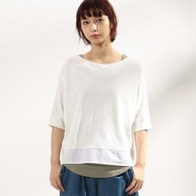 [マルイ] 【EC/一部店舗限定カラー】ロゴプリント セットTシャツ(ONIGIRI)/コムサイズムレデイス(COMME CA ISM)