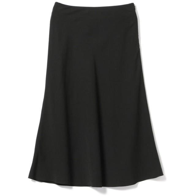 【50%OFF】 ビームス アウトレット Demi Luxe BEAMS / バイアス フレアスカート レディース BLACK 36 【BEAMS OUTLET】 【セール開催中】