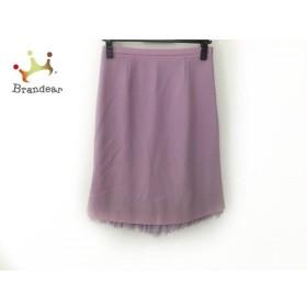 モスキーノ チープ&シック スカート サイズ42 M レディース 美品 ピンクパープル   スペシャル特価 20191106