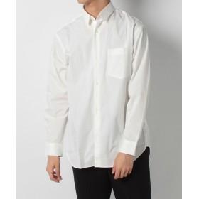 【45%OFF】 ベーセーストック T/Cストレッチブロードワイドシャツ メンズ ホワイト L 【B.C STOCK】 【セール開催中】