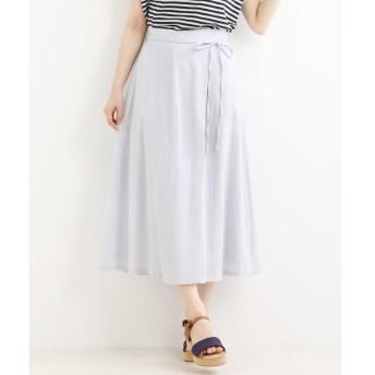 NIMES / ニーム コットンアムンゼンラップ風スカート