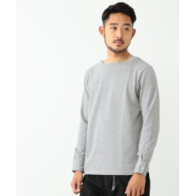 【50%OFF】 ビームス アウトレット BEAMS / ボートネックカットソー 18SS メンズ TOPGREY M 【BEAMS OUTLET】 【セール開催中】