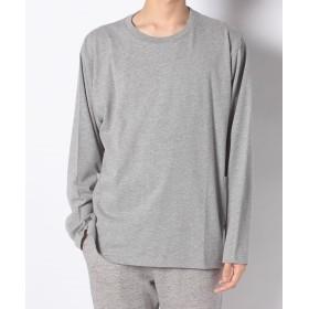 【50%OFF】 ナノ・ユニバース :ヘビーオンスサイドポケットTシャツLS メンズ グレー S 【nano・universe】 【セール開催中】