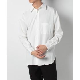 【62%OFF】 ベーセーストック CANAPAロングシャツ メンズ ホワイト L 【B.C STOCK】 【タイムセール開催中】