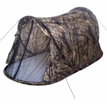 ポップアップ テント シングル 迷彩 1-2人 超軽量 キャンプテント