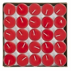 ティーライトキャンドル 50個セット アルミカップ ティーキャンドル ろうそく 赤 白 ロウソク 燃え尽き 防災 パーティー 告白用 結婚式