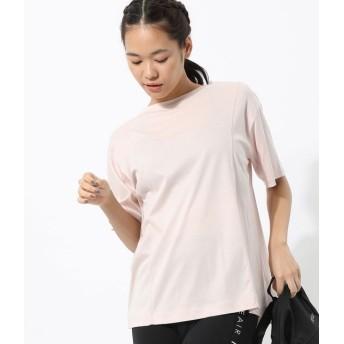 ナージー/ナノシアバックタックTシャツ/ピンク/F