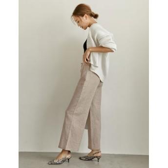 パンツ・ズボン全般 - Re: EDIT 大人のリラックススタイルが叶うパンツ 天竺編みストレッチニットストレートパンツ ボトムス/パンツ/フルレングス