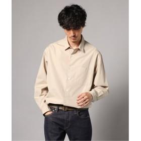 エディフィス トーマスメイソン MSN BRD ワイドレギュラーシャツ メンズ ベージュ S 【EDIFICE】