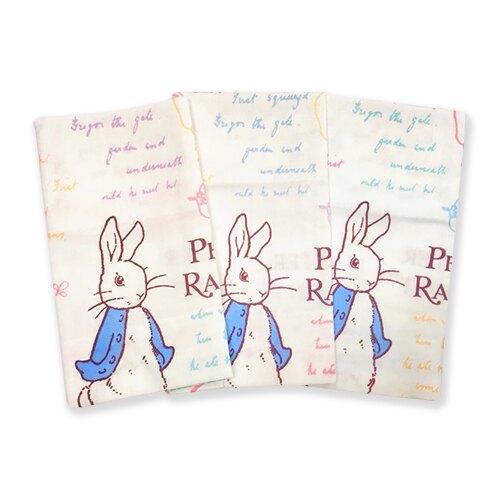 彼得兔/比得兔 精梳棉紗布手帕巾(顏色隨機出貨)HK701S-P★衛立兒生活館★