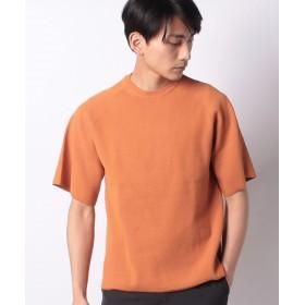 【60%OFF】 ベーセーストック ミラノリヴドロップニットTee メンズ オレンジ L 【B.C STOCK】 【セール開催中】