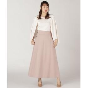 WILLSELECTION ウィルセレクション サイドボタンカラーロングスカート