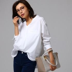 アンタイトル UNTITLED ◆スビンコットンシャツ (ホワイト)