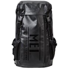 (Bag & Luggage SELECTION/カバンのセレクション)メイ リュック メンズ レディース ロゴ 大容量 30L MEI mdtp502/ユニセックス ブラック