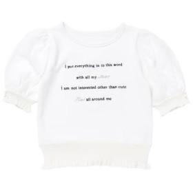 [マルイ] Twinkleハートメッセージトップス / mille fille closet/ロディスポット(LODISPOTTO)