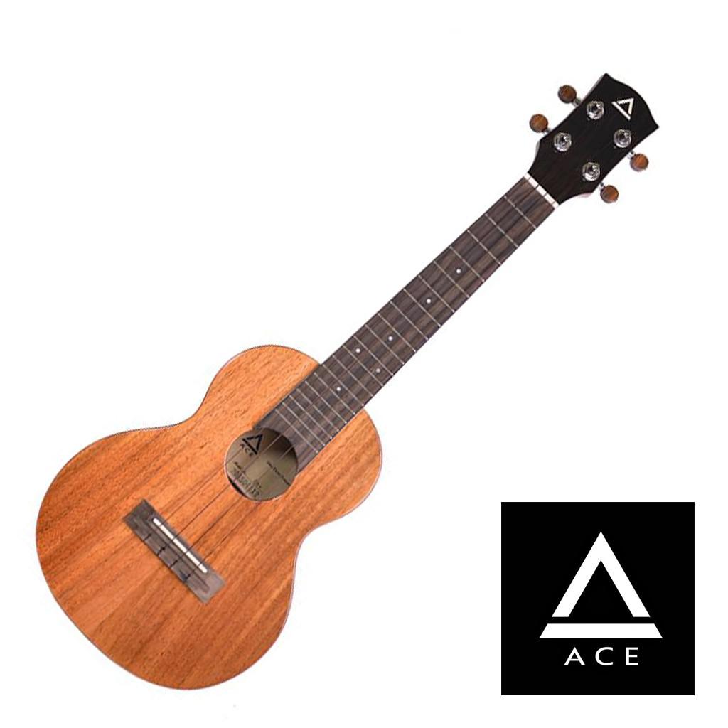 ACE D31烏克麗麗23吋 桃花心木 全單板 - 【他,在旅行】