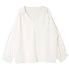 サードスプリング NAIN ぬき襟ブラウス レディース ホワイト フリー 【3rd Spring】