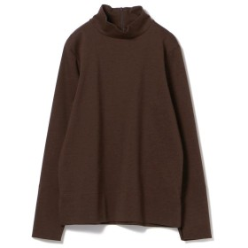 【50%OFF】 ビームス アウトレット Demi Luxe BEAMS / スリットロングスリーブ ハイネックカットソー レディース DBROWN ONESIZE 【BEAMS OUTLET】 【セール開催中】