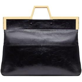 Fendi Shopping Flap ハンドバッグ L - ブラック