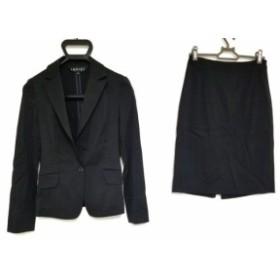 インディビ INDIVI スカートスーツ サイズ5 XS レディース 黒【中古】20190803