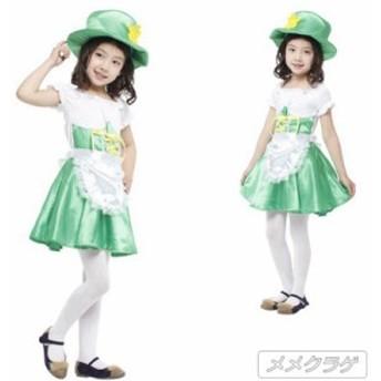 ハロウィン 精霊 キッズ 妖精 フェアリー コスプレ エプロン 子供用 女の子 コスチューム  ステージ仮装