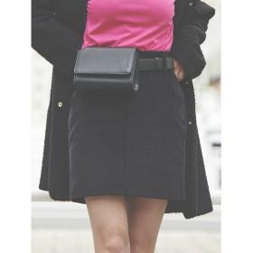 リゼクシー RESEXXY コーデュロイスカート (ブラック)
