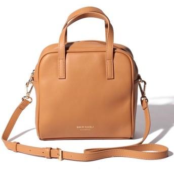 【50%OFF】 サミールナスリ Square Mini Bag レディース CAMEL F 【SMIR NASLI】 【セール開催中】
