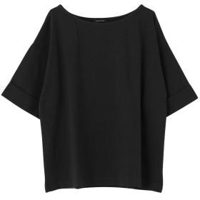 【20%OFF】 アクアガレージ ロールアップ袖トップス レディース black one size 【aquagarage】 【セール開催中】