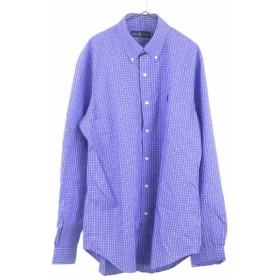 RALPH LAUREN(ラルフローレン)ポニー刺繍 ボタンダウン ウィンドペンチェックシャツ 半袖