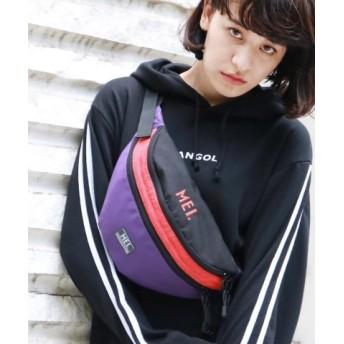(THE SHOP TK/ザ ショップ ティーケー)【MEI/メイ別注】ウエストポーチ/サコッシュ/メンズ パープル(083)