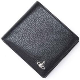 [あす着] ヴィヴィアンウエストウッド Vivienne Westwood 2つ折り財布 小銭入れ付き メンズ MILANO MAN WALLET