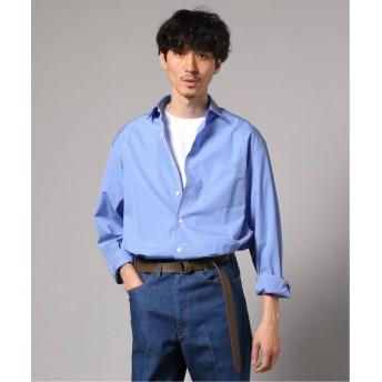 エディフィス トーマスメイソン MSN BRD ワイドレギュラーシャツ メンズ サックスブルー S 【EDIFICE】