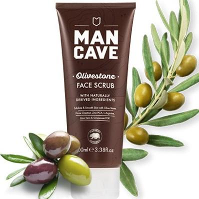英國Man Cave Face Scrub橄欖核磨砂膏 / GOODFORIT