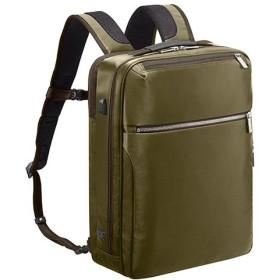 カバンのセレクション エースジーン ビジネスバッグ ビジネスリュック メンズ A4 ace. GENE 55536 ガジェタブル USBポート 撥水 ユニセックス カーキ フリー 【Bag & Luggage SELECTION】