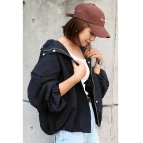 【ヴァンスシェアスタイル/VENCE share style】 ボリューム袖マウンテンパーカー