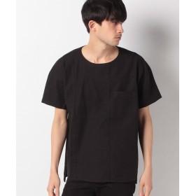 【60%OFF】 ベーセーストック プリペラストレッチPOシャツSS メンズ ブラック M 【B.C STOCK】 【セール開催中】